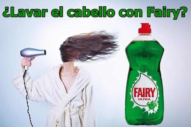 mi experiencia lavando el cabello con fairy