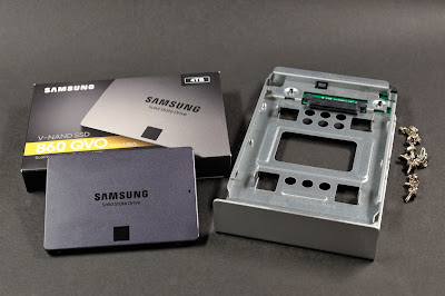 an inexpensive consumer grade SSD can be used for backup