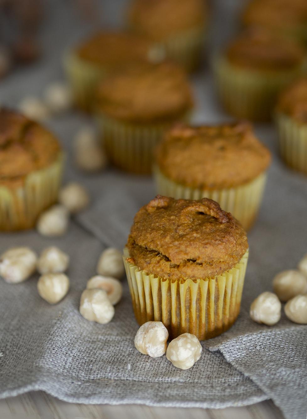 Muffins veganos de calabaza y avena_4