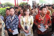 Bupati Tetty Paruntu Hadiri Musrembangnas Di Istana Negara Yang Dibuka Presiden Jokowidodo