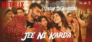 Jee Ni Karda Lyrics - Jass Manak | Sardar Ka Grandson
