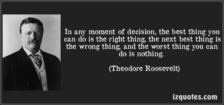 Theodore Roosevelt Quotes: Ransom Road: April 2013