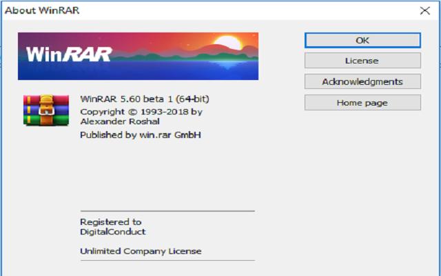 تفعيل أفضل برنامج ضغط وفك ضغط الملفات Winrar 5.60 آخر إصدار