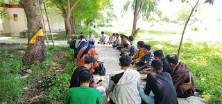 PK PMII STAI-MU Menggelar Sekolah Pembebasan Sosial