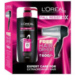 L'Oreal Paris Shampoo 640Ml + Free Hair Dryer For Rs 430 at Nykaa