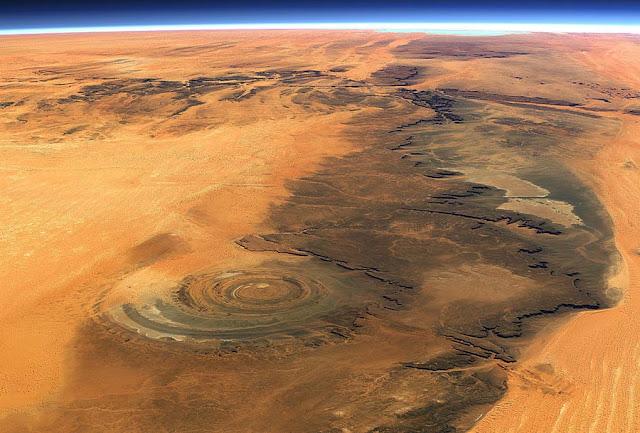 Estrutura de Richat – Mauritânia