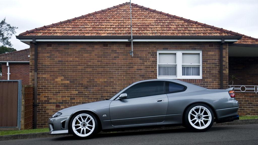 lowered, niskie, obniżone, sportowe, zawieszenie, jdm, Nissan Silvia S15 200SX