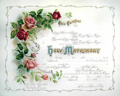 Printable Certificate Of Marriage Template olpwe