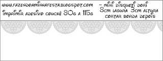 Silver Lace Free Printable Labels.