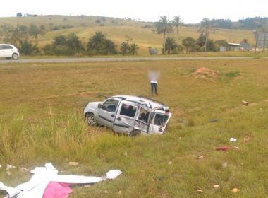 Santo Antônio de Jesus: Uma pessoa morre e outras cinco ficam feridas em acidente