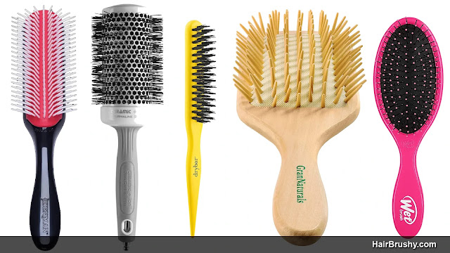 Type of Bristles Recommended For Hair Brushes