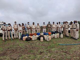 धार जिले में आबकारी विभाग के द्वारा चलाये जा रहे विशेष अभियान