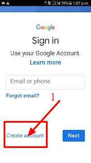 Mobile me Google Account Kaise Banaya Jata Hai