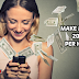 Earn money at home from yome live app.