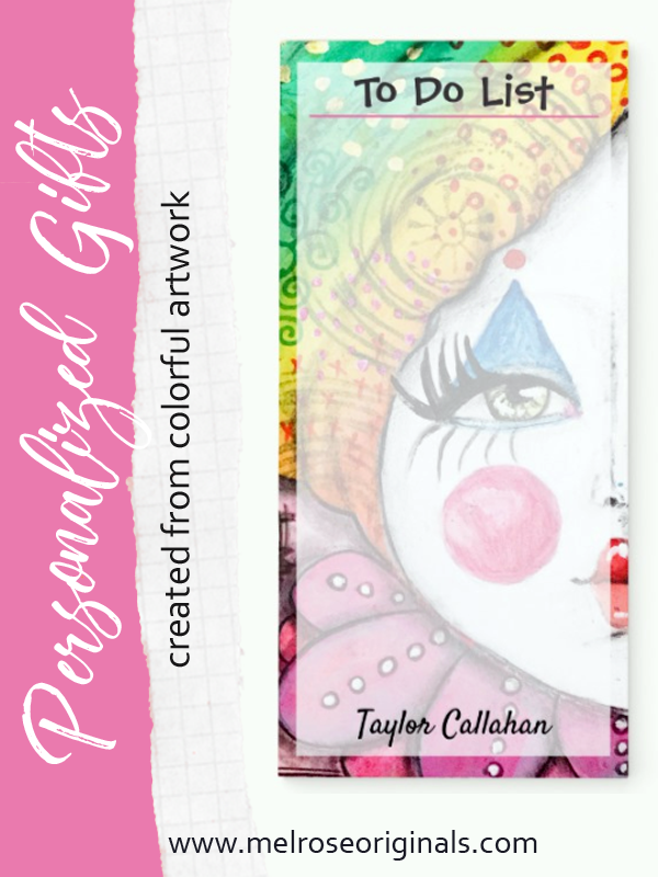 Beautiful Rainbow Ombre Clown Girl https://www.zazzle.com/store/melroseoriginals/products?dp=0&cg=196322923567790495&rf=238426103092899112
