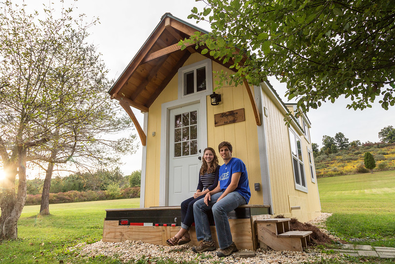 Tiny Home Designs: TINY HOUSE TOWN: The Sunny Side Tiny House