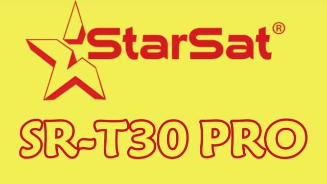 ملف قنوات الجهاز ستارسات SR-T30 PRO جديد ومرتب 2020