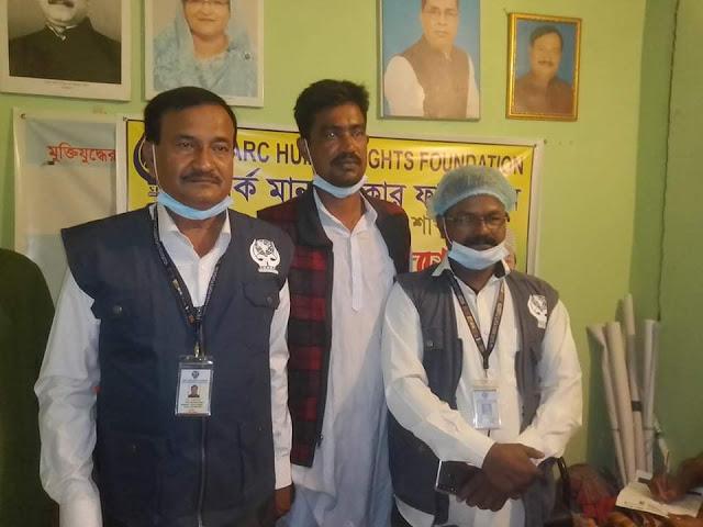 সার্ক মানবাধিকার ফাউন্ডেশনের ঝিকরগাছা অফিসে আলোচনা