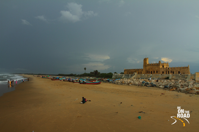 Danish Fort and Trannquebar Beach, Tamil Nadu