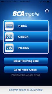 login BCA mobile