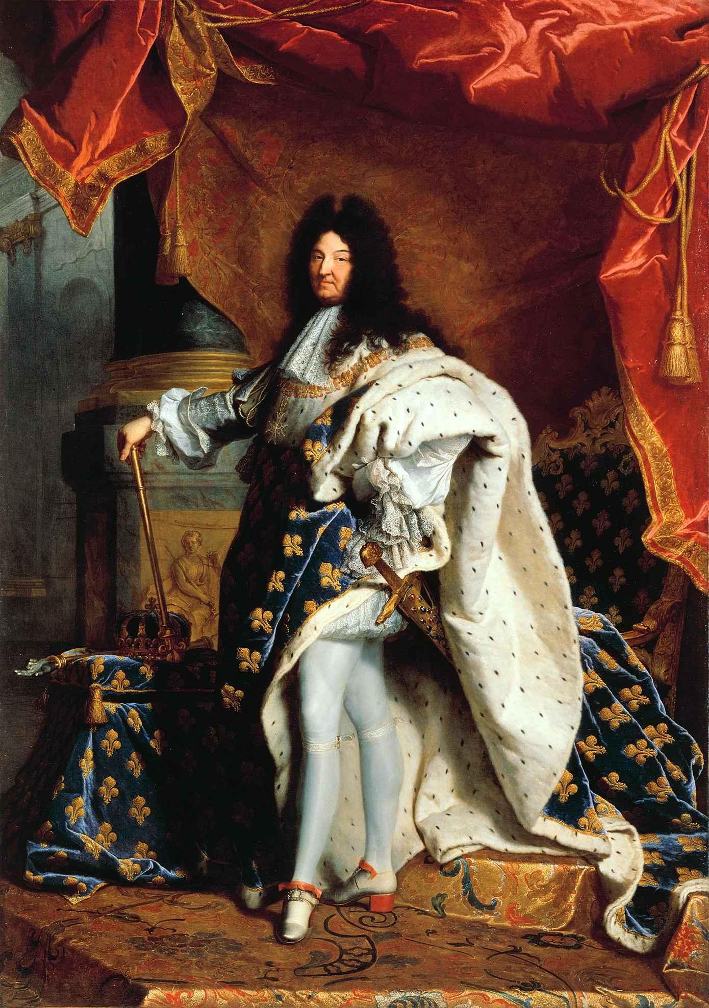 Ο Λουδοβίκος ΙΔ΄ (1701)
