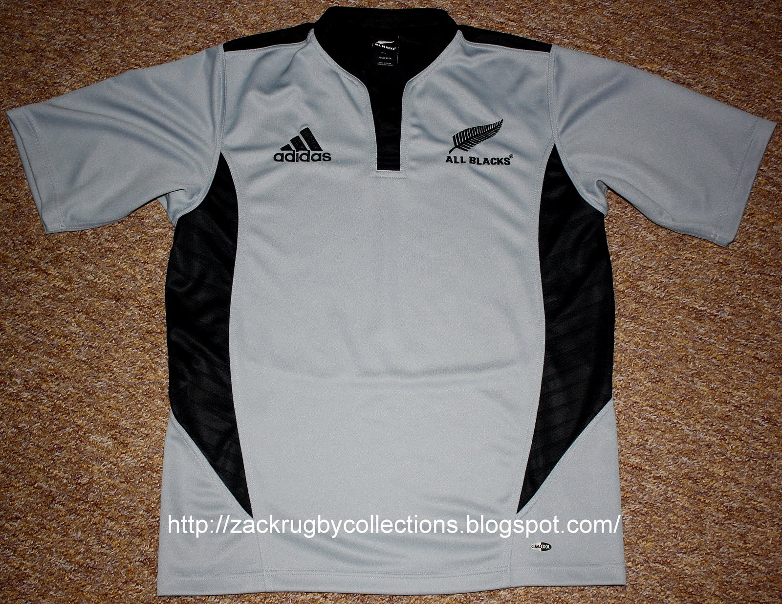 ZackRugby Collections®: New Zealand All Blacks Alternate SS