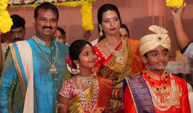 Dhoti and Half Saree Ceremony