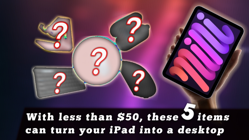 With Only $50, Use ipad as desktop Using These 5 Items