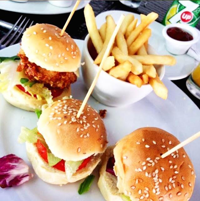 triptico hamburguesas gourmet donde comer