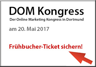 DOM-Kongress Frühbuchertickets