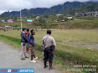 Cara Polri Jamin Situasi Intan Jaya tetap Kondusif
