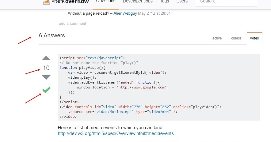 เว็บ StackOverFlow ใช้งานยังไง จะเอาโค้ดมาใช้งานจากส่วนไหน