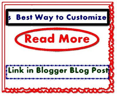 5 Beautiful Read more link customize for Blogger