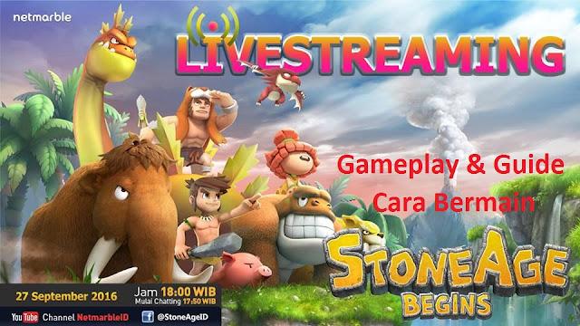 Cara Bernain Stone Age Begins (Gameplay and Guide)