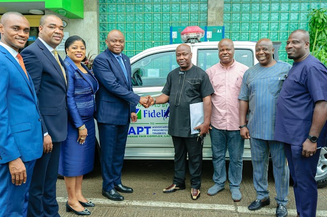Fidelity Bank Presents Vehicles To Business Associations