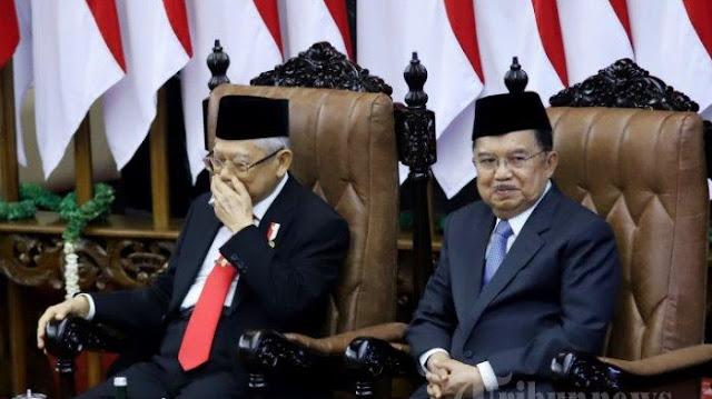 """KH Ma'ruf Amin Sengaja Membiarkan """"Orang-Orang"""" JK Masih Berada di Istana Wapres?"""