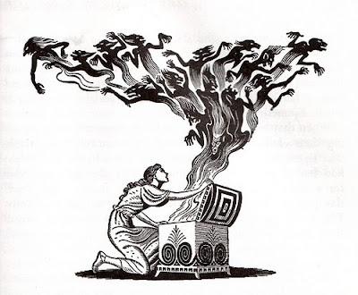 Diabo, Pan, Deus Pan, Fauno, Deus dos Bosques, Deus Cornífero, Mitologia, História, pandora, caixa de pandora