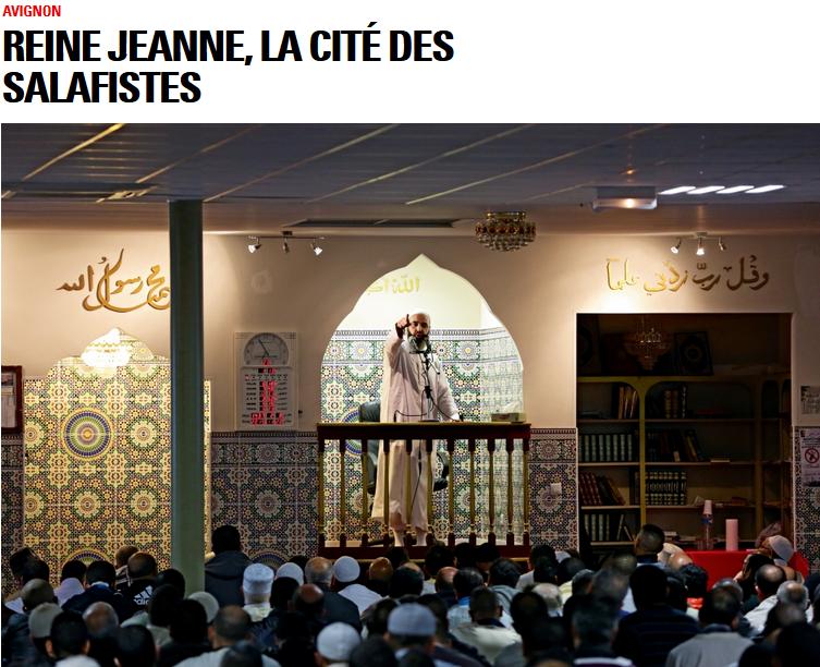 A la nouvelle mosquée de Saint-Jean, à côté de la Reine Jeanne, l'imam Hichem prêche en arabe et en français. A mots couverts, il donne raison à Daech.