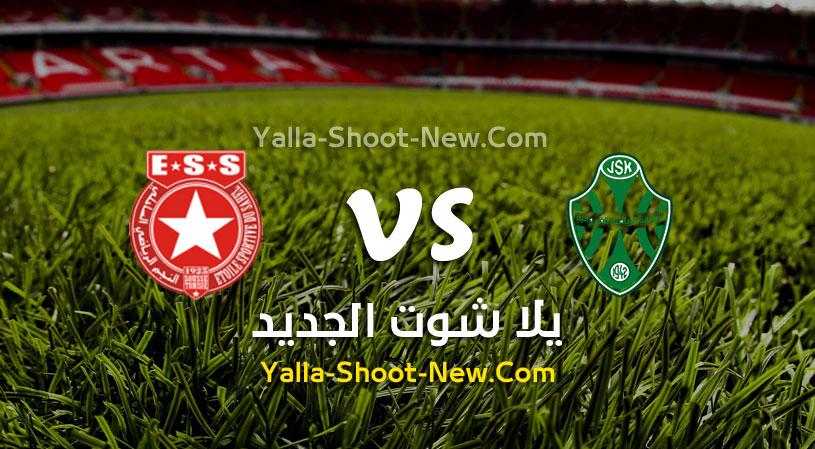 مباراة شبيبة القيروان والنجم الرياضي الساحلي