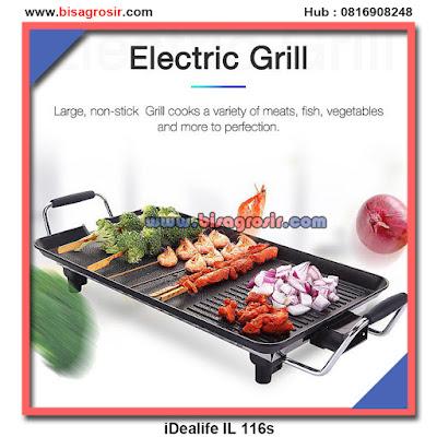 Idealife il 116s - alat panggang listrik ORIGINAL 100%