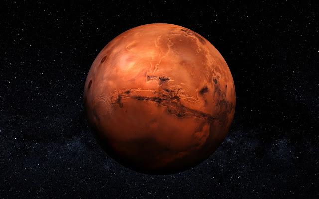 High-Resolution-Mars-Image