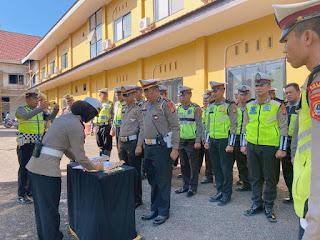 Beri Layanan Terbaik, Polisi Lalu Lintas di  Maros Tandatangani Pakta Integritas