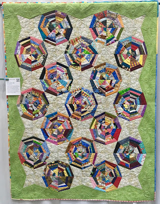ecqg georgia celebrates quilt show east cobb 2017 string spider web bonnie hunter