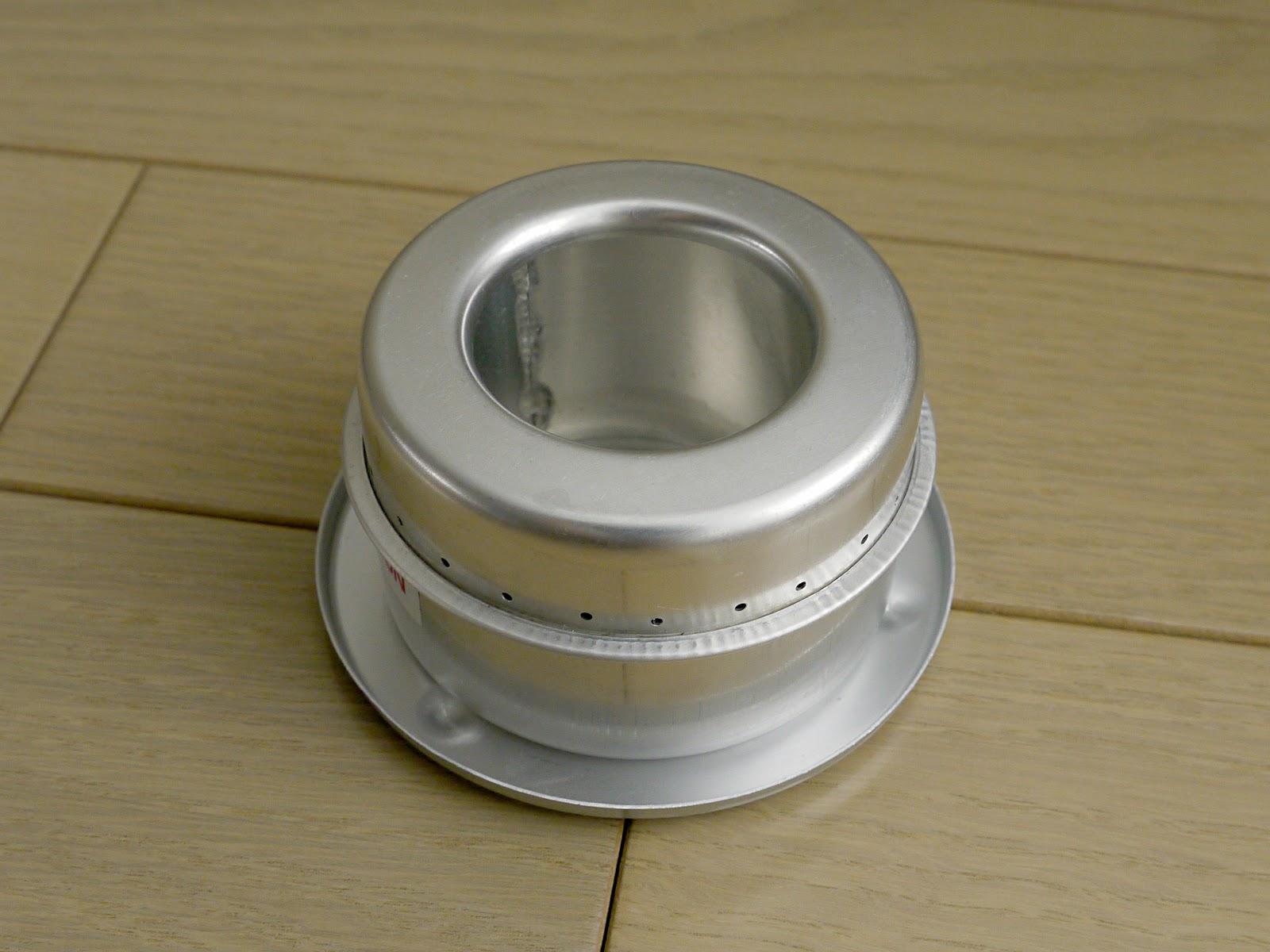アルミ缶で自作のアルコールストーブを作成す …