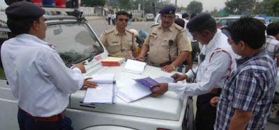 Chandigarh Traffic Police E Challan