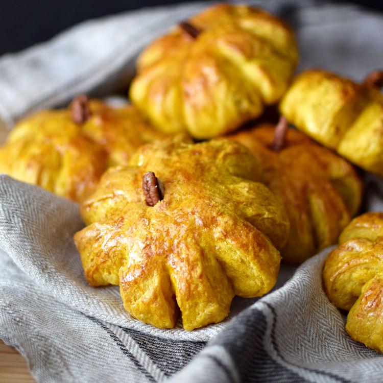 Receta para preparar pan casero de calabaza