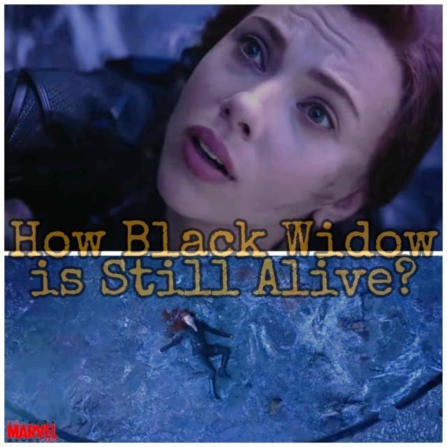 Vormir Theory- Black Widow is Still Alive in Marvel(MCU)