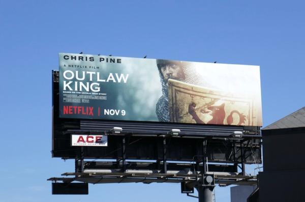 Outlaw King film billboard