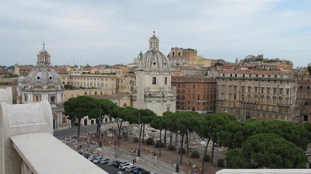 Museus Capitolinos em Roma na Itália