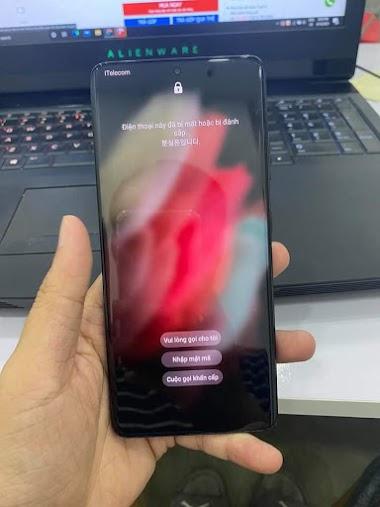 Galaxy S21 Ultra 5G G998N Remove Please Call Me - FRP